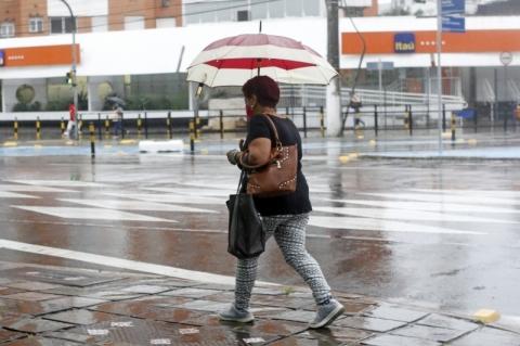 Rio Grande do Sul tem risco de temporais nesta quinta-feira