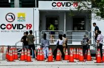 Casos de Covid-19 e internações nos EUA atingem novo recorde diário