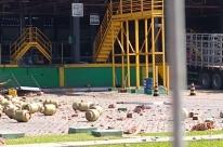 Explosão em distribuidora de gás deixa feridos e uma pessoa morta em Pelotas
