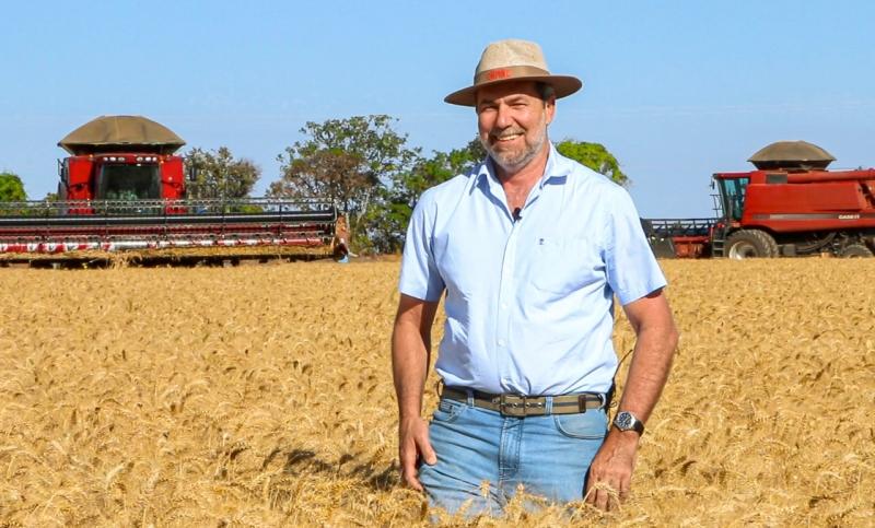 Bonato, de Goiás, bateu o recorde brasileiro de produtividade do grão
