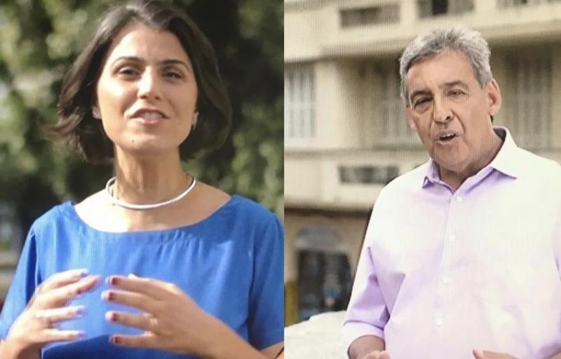 Nos votos válidos, Manuela (PCdoB) aparece com 51% e Melo (MDB) com 49%