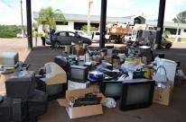 Ações coletam toneladas de resíduos e eletrônicos em Teutônia