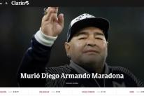 Maradona morre após parada cardiorrespiratória, informa imprensa argentina