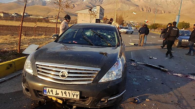 Mohsen Fakhrizadeh foi emboscado na cidade de Absard, 70 km a leste de Teerã