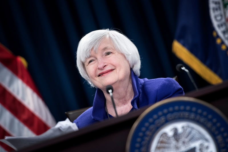 Janet Yellen é ex-presidente do Banco Central dos Estados Unidos