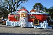 Começa atendimento aos visitantes na Casa do Papai Noel em Flores da Cunha