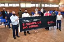 Campanha é lançada para frear contágios de Covid-19 em Santo Ângelo