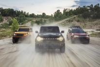 Ford lançará o Bronco, Mustang Mach 1 e Ranger Black no Brasil em 2021
