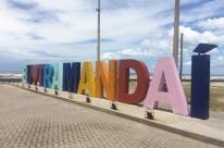 Letreiro da Beira-Mar de Tramandaí está de cara nova