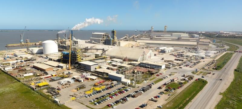 Yara confirmou para o início de 2021 a conclusão da expansão da unidade de produção e mistura de fertilizantes