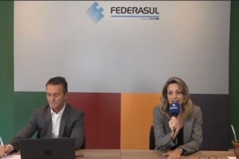 Moderadamente otimista, Federasul estima crescimento em 2021 desde que decisões políticas não impeçam