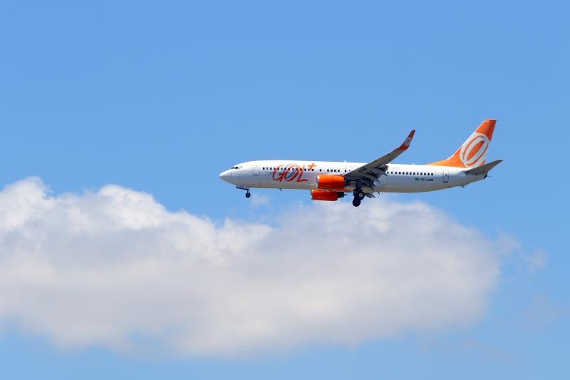 Durante o mês de dezembro, a Gol operou uma média de 476 voos por dia
