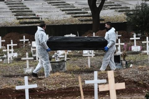 Brasil tem 480 mortes por Covid-19 em 24h; total é de 203.580, diz ministério