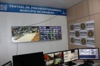 Gramado passa a contar com mais 41 câmeras para o videomonitoramento
