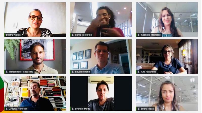 Secretária de Cultura do RS esteve em coletiva on-line para balanço das atividades de 2020