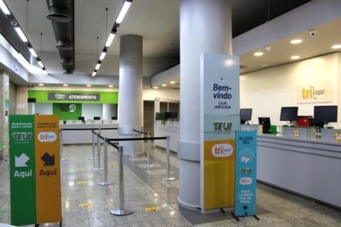 Lojas dos cartões TRI e TEU passam a operar juntas no Centro de Porto Alegre