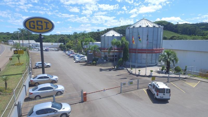 Agro - agronegócio - unidade da GSI em Marau - Rio Grande do sul - montagem de equipamentos para armazenagem - grãos - indústria de máquinas agrícolas