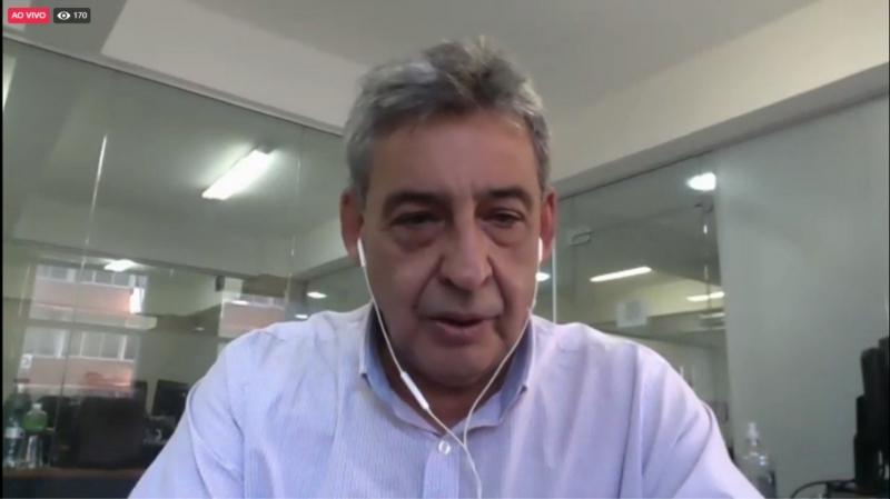 Melo confirmou os três novos secretários, de perfil técnico, em transmissão pela internet