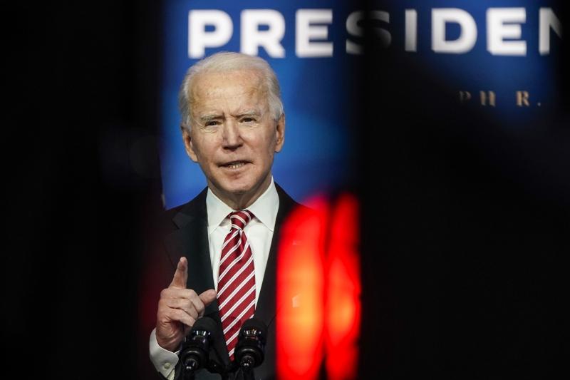 Joe Biden voltou a dizer que o pacote fiscal é um primeiro passo e que outras ações precisarão ser tomadas no início de 2021