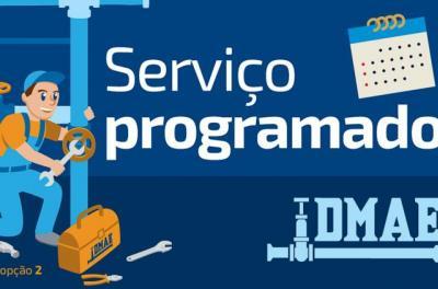 Departamento Municipal de Água e Esgotos (Dmae) informa que poderá faltar água neste domingo (27)
