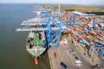 Wilson Sons bate recorde de exportação de arroz via Tecon