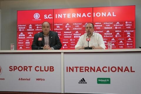 Barcellos anuncia nova diretoria do Inter, pede paz e acredita em título do Brasileirão