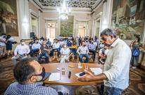 Gestores assinam termo de compliance na primeira reunião do novo secretariado de Porto Alegre