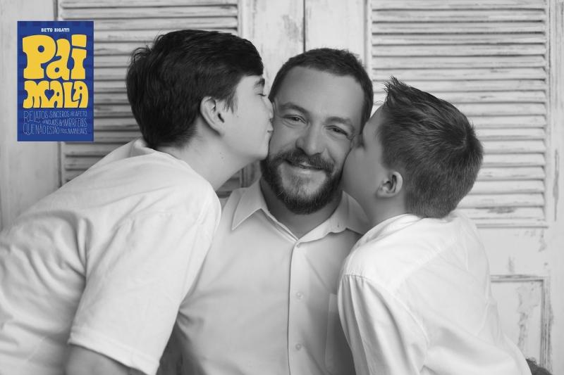 Pai do Gianluca e do Stefano, autor também é embaixador da Revista Pais&Filhos e palestrante