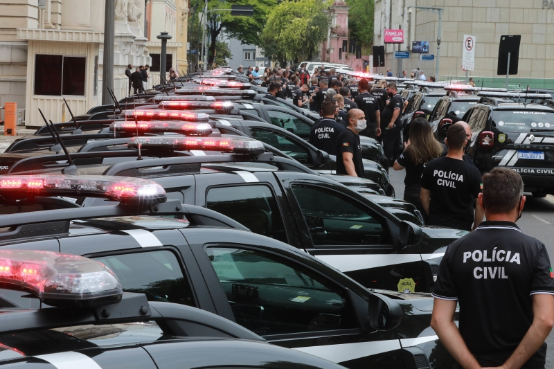 Governo diz que a Polícia Civil e as demais forças vão estar nas ruas contra as aglomerações