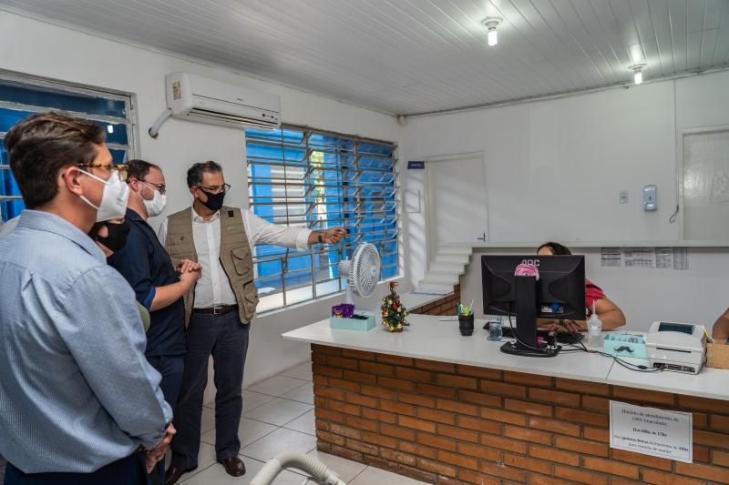 Jairo Jorge vistoriou locais para avalizar a reabertura dos espaços