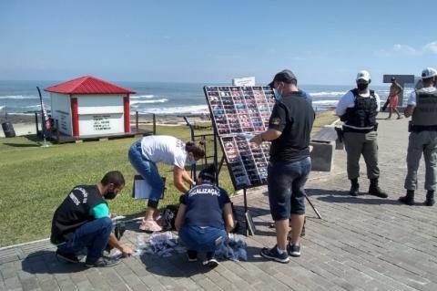 Operação apreende mais de 400 óculos de sol falsos em Torres