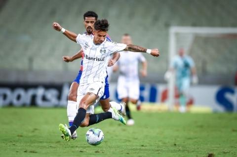 Grêmio empata sem gols com Fortaleza, segue em quinto e ainda sonha com o título