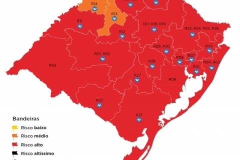 Governo gaúcho recebe cinco pedidos de reconsideração ao mapa preliminar da 36ª rodada