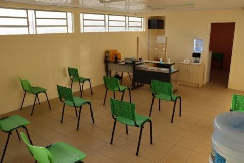 Centro Covid é reinaugurado em novo endereço de Taquara
