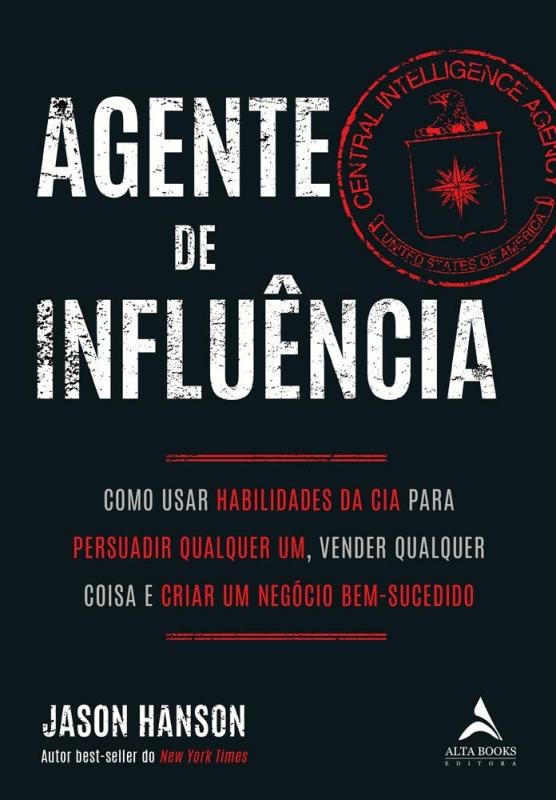 Resenha Agente de Influência, de Jason Hanson, Editora Alta Books
