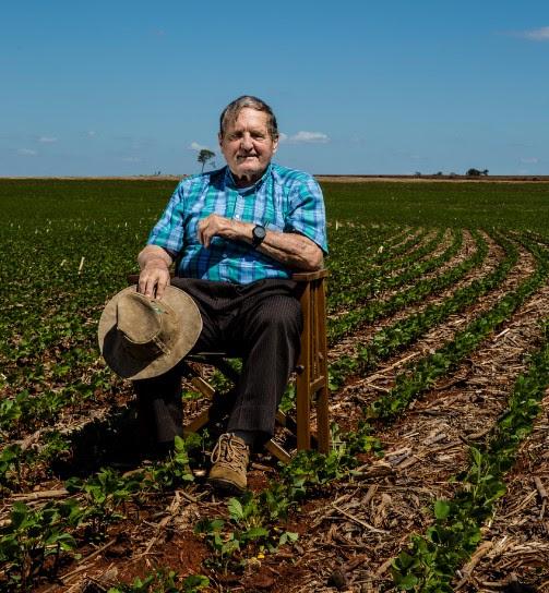 Bartz abraçou método de plantio que dispensa revolver o solo