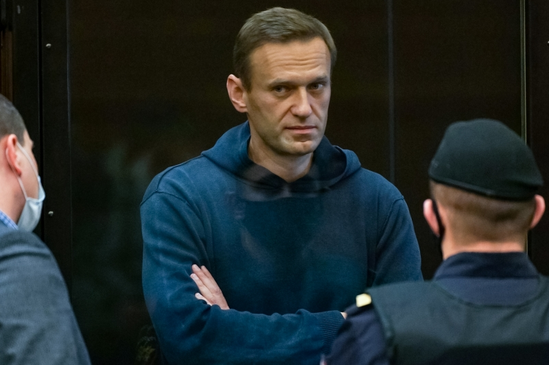 Navalny cumprirá sua pena de 2 anos e 8 meses em colônia penal