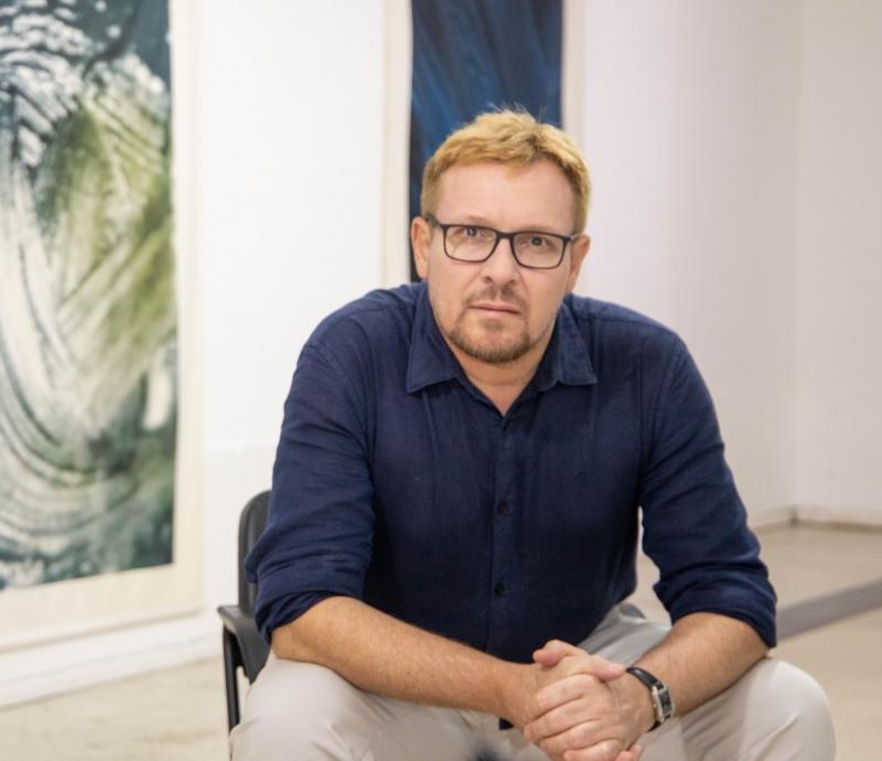 Fábio André Rheinheimer está expondo no Espaço Cultural Correios