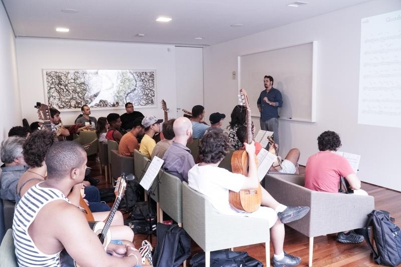 Projeto inicia o ano estimulando a formação de grupos e novos compositores