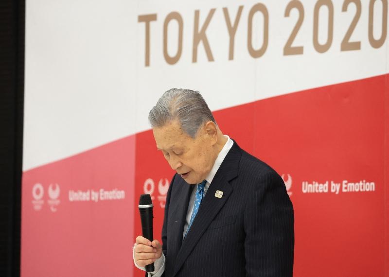 No dia 3 de fevereiro, Mori afirmou que as mulheres falavam muito durante as reuniões do conselho