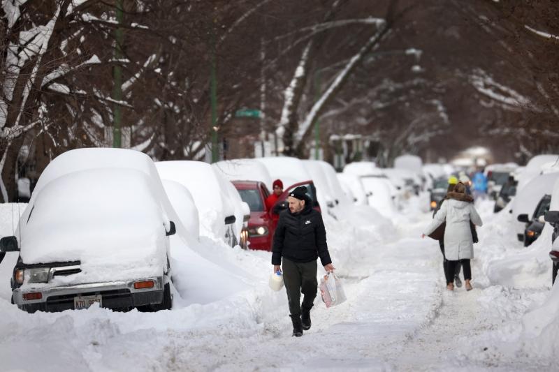 Temperaturas em vários estados caíram para patamares que não eram vistos em mais de um século