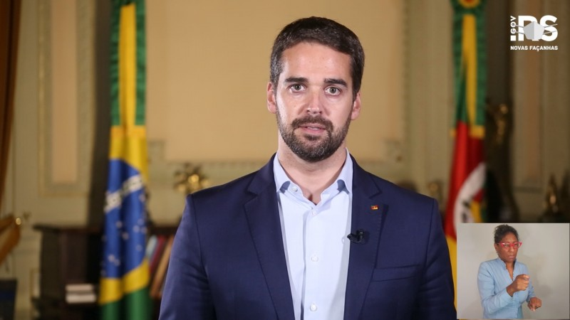 Em vídeo, governador lembrou que o Estado enfrenta o pior momento da pandemia