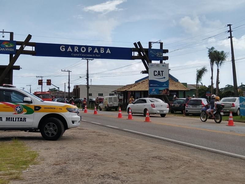 Prefeitura de Garopaba impôs barreiras sanitárias para coibir entrada em massa de turistas
