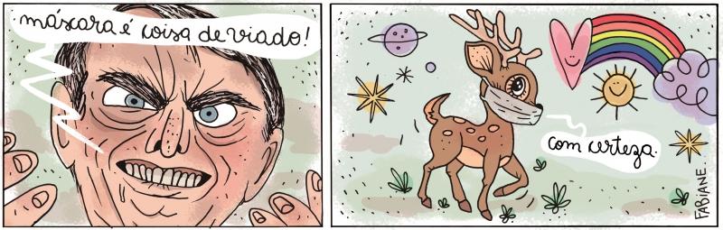 Cartunista começou a desenhar profissionalmente em 2005, na extinta revista de humor MAD