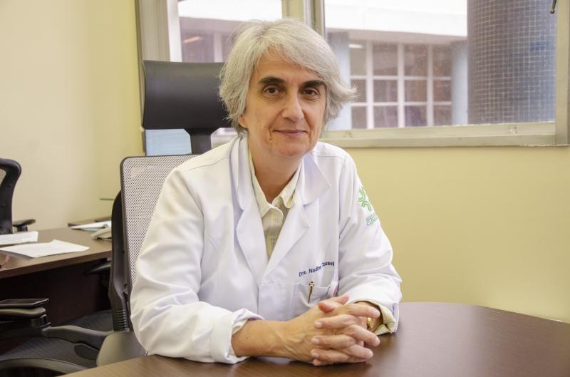 Nadine, do Hospital de Clínicas: