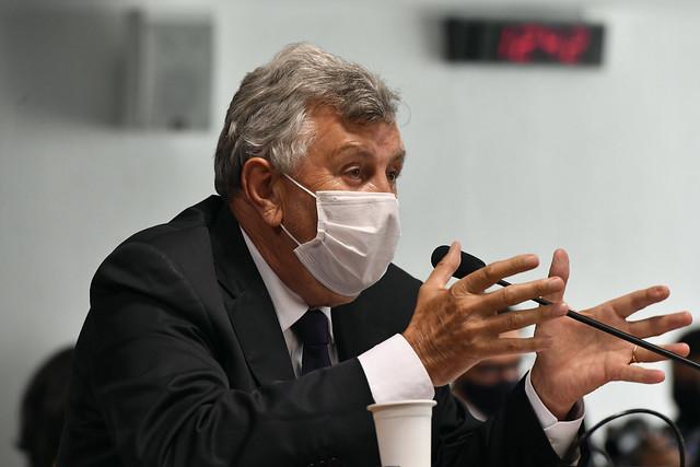 Luis Carlos Heinze foi confirmado como membro titular da CPI da Covid na vaga do senador Ciro Nogueira, que assumiu a Casa Civil