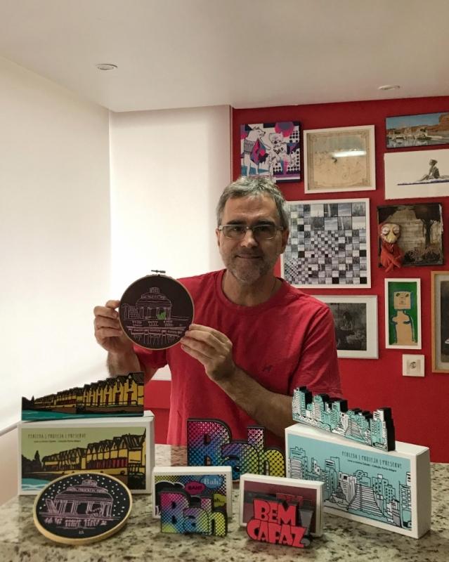 Leandro criou o projeto Leve a minha cidade