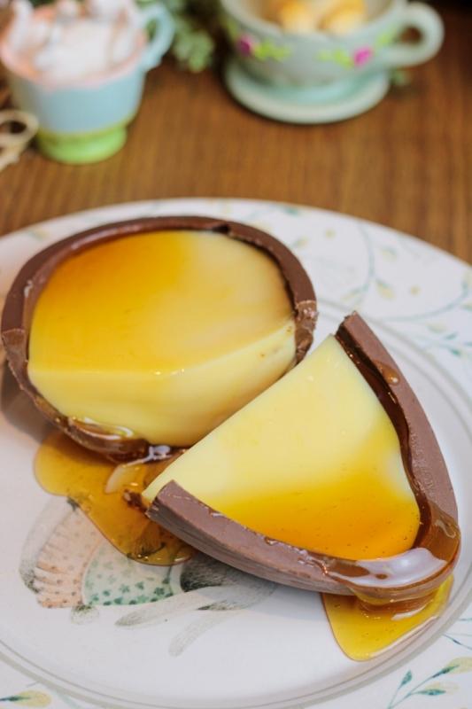 A Aprecie Pudins surgiu em 2020 e, para a Páscoa, colocou o doce como recheio de ovo