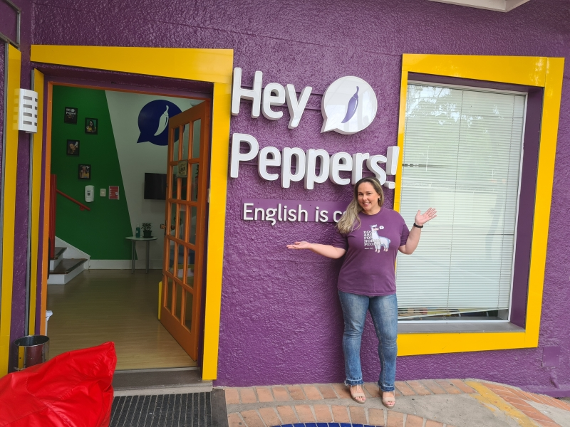 Vivian investiu na franquia Hey Peppers, que tem robótica e programação no currículo