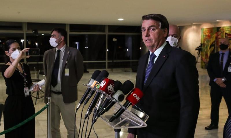 A sanção da lei foi anunciada em entrevista coletiva no Palácio do Planalto pelo presidente Jair Bolsonaro